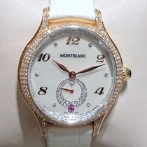 Montblanc Princess Grace De Monaco Rose gold Mother of pearl Arabic numerals