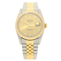 Rolex Datejust 16233 - Gents Watch - Diamond Dial - 1995
