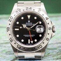 Rolex 16570 Explorer II SS Black Dial (26830)