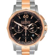 Corum Admirals Cup Legend 42 Steel/18K R/G Chronograph Men's...