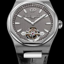 Girard Perregaux White gold Automatic 42mm new Laureato