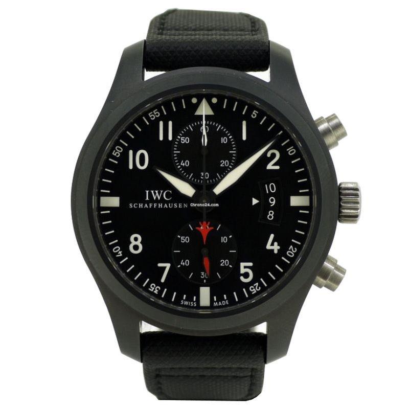IWC Pilot Chronograph Top Gun óra árak  29eec3640c