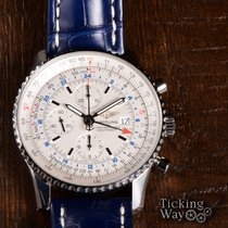 Breitling Navitimer World pre-owned 46mm Steel