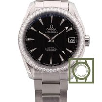 Omega Seamaster Aqua Terra 150M Co-Axial 38.5 mm Diamond Bezel...