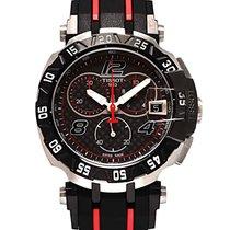 Tissot Chronograaf 47mm Quartz nieuw T-Race Zwart