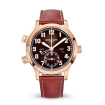 Patek Philippe Travel Time Rose gold Brown