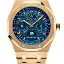 Audemars Piguet Royal Oak Perpetual Calendar new Watch with original box and original papers 26574BA.OO.1220BA.01