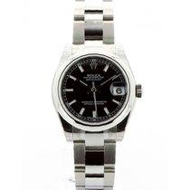 Rolex Lady-Datejust Steel 31mm Black