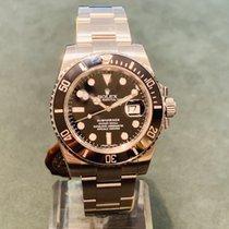 Rolex Submariner Date Otel 40mm Negru Fara cifre