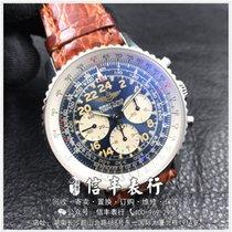 百年灵 Navitimer Cosmonaute 钢 蓝色 阿拉伯数字 中国, Chang Sha, Hu Nan