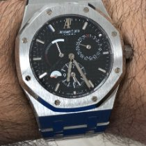 Audemars Piguet Royal Oak Dual Time Steel 39mm Black No numerals United States of America, Florida, Miami