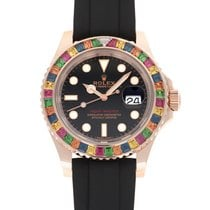 Rolex Yacht-Master 40 Red gold 40mm Black