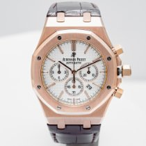 Audemars Piguet Royal Oak Chronograph Rose gold 41mm Silver No numerals United States of America, Massachusetts, Boston