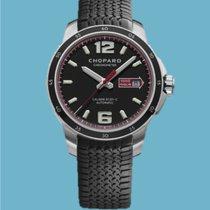 Chopard neu Automatik Sichtboden Chronometer Verschraubte Krone Leuchtindizes 43,00mm Stahl Saphirglas