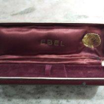 Ebel vintage watch box leather brown rare rare rare