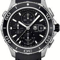 TAG Heuer Aquaracer 500M new Automatic Chronograph Watch with original box and original papers CAK2110.FT8019
