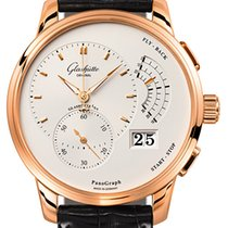 Glashütte Original PanoGraph Rose gold 40mm Silver United States of America, New York, Airmont