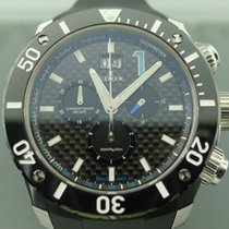 Edox Class-1 Steel 45mm Black No numerals