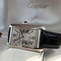 Cartier Tank Americaine XL White Gold 45 x 26 mm (Full Set)