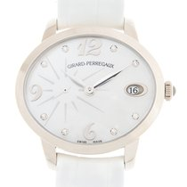 Girard Perregaux Cats Eye Stainless Steel White Automatic...