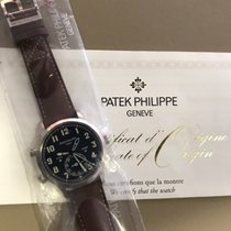 Patek Philippe Travel Time White gold 42mm Blue Arabic numerals
