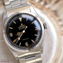Rolex Vintage Explorer Gilt Glossy Dial Ref-6150 Stainless...