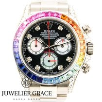 Rolex Daytona Rainbow Diamonds Aftermarket Diamanten