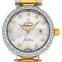 Omega De Ville Ladymatic new Quartz Watch with original box 425.25.34.20.55.003