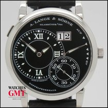 A. Lange & Söhne Grand Lange 1 White Gold Black Dial