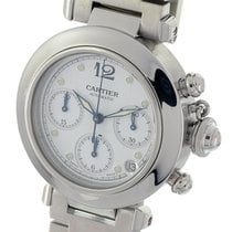 Cartier Pasha Mens Automatic Chrono Chronograph 2412 Watch...