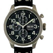 Zeno-Watch Basel Pilot Oversized Day Date Chronograph 47mm
