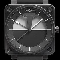 Bell & Ross BR 01-92 nuevo Automático Reloj con estuche y documentos originales BR0192-HORIZON