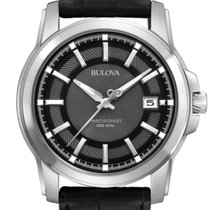 Bulova Precisionist Steel 42mm Black No numerals