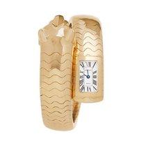 Cartier Panthère Yellow gold 33mm White Roman numerals