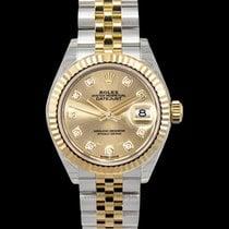 Rolex Lady-Datejust Yellow gold 28mm Champagne United States of America, California, San Mateo