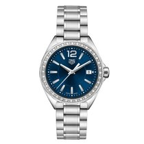 TAG Heuer Steel Quartz Blue No numerals 35mm new Formula 1 Lady