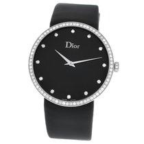 Dior Christian  La D De Dior CD043114A002 Diamond SS Quartz