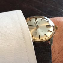Omega Seamaster (Submodel) pre-owned 36mm Gold/Steel