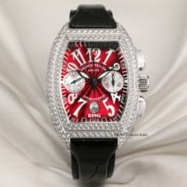 Franck Muller White gold 40mm Automatic 8001 CC D pre-owned