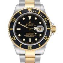 Rolex Submariner Date 16613LN Muy bueno Acero y oro 40mm Automático