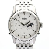 Oris Artelier Worldtimer Steel 42mm White