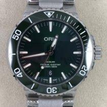 Oris Steel Automatic Green No numerals 43,50mm new Aquis Date
