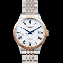 Longines Record Steel White United States of America, California, San Mateo