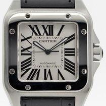 Cartier Santos 100 Stahl 38mm Silber Deutschland, Stuttgart