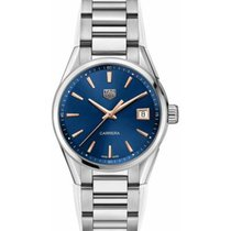 TAG Heuer Carrera Lady Steel 35mm Blue No numerals