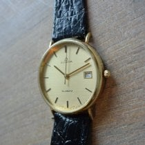 Dugena Yellow gold Quartz 32mm pre-owned
