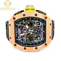 Richard Mille RM 011 RM11-03 New Rose gold 44.50mm Automatic