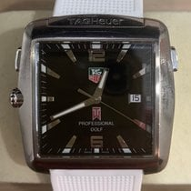 TAG Heuer Professional Golf Watch WAE1110-0 Very good Titanium 36mm Quartz