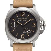 Panerai Luminor Power Reserve Titanio 44mm Marrone Arabi