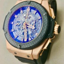 Hublot Rose gold Automatic Transparent 48mm pre-owned King Power